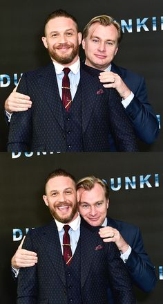 Tom Hardy and the illustrious Chris Nolan. Christopher Nolan, Chris Nolan, Tom Hardy Photos, Tinker Tailor Soldier Spy, Fritz Lang, Jean Luc Godard, French Films, Stanley Kubrick, Wedding Quotes