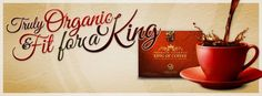 King of Coffee @ High quality coffee beans and Ganoderma are just part of this great coffee.   To know more, visit www.sexytastycoffee.organogold.com