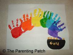2013-03-14-Handprint-Rainbow-St.-Patricks-Day-Toddler-Craft-11.jpg 548×411 pixels