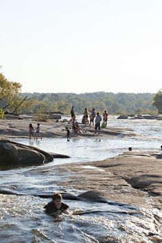 an area of the James River in Richmond, Va.Our family home after moving to Richmond in 1973 was a mile from the Pony Pastures. Oh The Places You'll Go, Places To Visit, Virginia Is For Lovers, Old Dominion, Richmond Virginia, Hampton Roads, Lounge, Day Trips, Kayaking