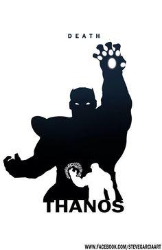 Thanos - Death By Steve Garcia