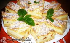 Érdekel a receptje? Kattints a képre! Hungarian Recipes, Hungarian Food, Pudding Recipes, Something Sweet, Jello, Wok, French Toast, Muffin, Favorite Recipes