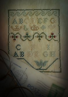 Reproduction I stitched from Chessie and Me
