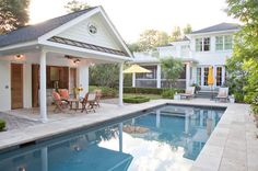 Exterior - traditional - pool - charleston - Matthew Bolt Graphic Design