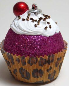 Faux Cupcake Ornament