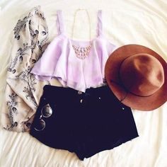 LoLus Fashion: Superbb Outfit Matching Black On Light Top With Ne...