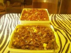 Picture South African Recipes, Ethnic Recipes, Venison Recipes, Macaroni And Cheese, Kos, Traditional, Meat, Game, Mac Cheese