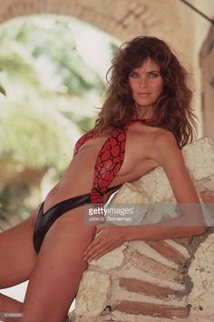 News Photo : Model Carol Alt is photographed for the 1987...