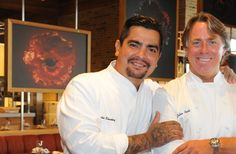 Chefs Aarón Sánchez and John Besh Talk About Collaborating, Travel's Influence