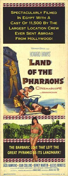 The Egyptian AND Land of the Pharaohs. The Egyptian is possibly a bit campier, but both are indispensable if you like antiquity epics with great scores and a misogynistic message.