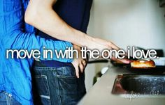 Necessarily wish once I,ll be in love and ready. :)