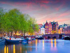 Amsterdam Romantic destinations in Europe - Copyright  Werner Kunz - European Best Destinations