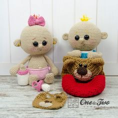 Lucy And Linus The Baby Twins Amigurumi Pattern