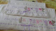 Bordado: toalhas ( colaboração Beth)