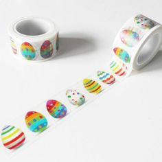 Washi Tape Storage, Washi Tape Crafts, Paper Crafts, Washi Tapes, School Stationery, Cute Stationery, Stationary, Tapas, Cute School Supplies
