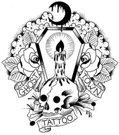 Ghost towns ghost town band and ghosts on pinterest for Ghost town tattoo