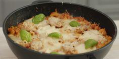 Zapečena tjestenina u tavi