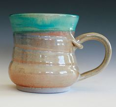 I love pottery, this is a great Coffee Mug handmade ceramic cup ceramic stoneware mug by ocpottery, $20.00