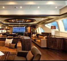 The Mangusta 165 has been nominated for the 2013 International Yacht and Aviation award Luxury Yacht Interior, Luxury Jets, Boat Interior, Luxury Homes, Interior Design, Yacht Design, Boat Design, Private Yacht, Yacht Boat