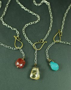 Hooked Lariat Necklace by MaggieJs on Etsy, $30.00