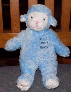 8-5-034-2001-HOLY-BEARS-God-Bless-BAby-BLUE-RATTLE-Lamb-9