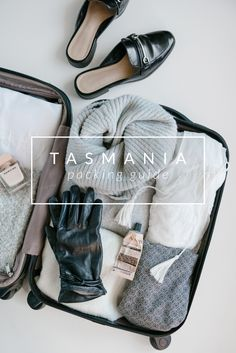 The best items to pack for any weather in Tasmania. Holiday Packing Lists, Winter Packing, Winter Travel, Summer Travel, Tasmania Road Trip, Tasmania Travel, Road Trip Outfit, Road Trip Packing, Packing Tips