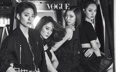 Krystal, Luna, Amber, Victoria for Vogue Magazine Victoria Fx, Victoria Song, Sulli, South Korean Girls, Korean Girl Groups, Amber Liu, Krystal Jung, Vogue Korea, Vogue Magazine