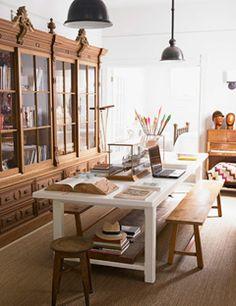Multi purpose room on pinterest oval dining tables for Multi use dining room ideas