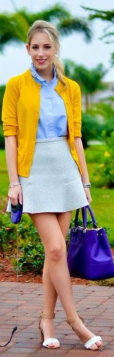#Flared #Mini by Katie's Bliss Royal blue bag