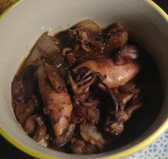 Squid in Adobo Sauce