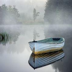 Rusky misty morning... by David Mould on 500px