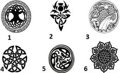 Os Nós Celtas podem criar sigilos com os quais podemos lançar feitiços poderosos. A chave é a sua imaginação e sua capacidade de criar padrões tão