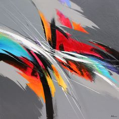 "Rhythm in colors  48"" x 48"" x 3/4"" po/in"