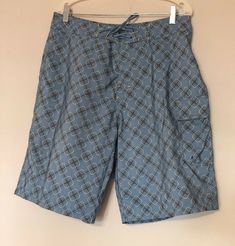 e62da0740fd94 Oakley #Mens Board Shorts Swim Trunks Surf Size 34 #Blue 10.5