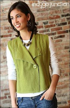 (9) Name: 'Sewing : Modern Silhouette Vest