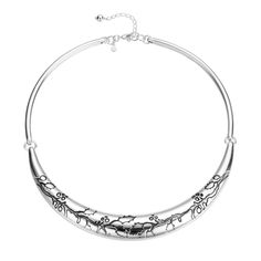 """Holly Imprint 18"""" Collar Necklace from Arthur Court in Gainesvile, FL from Kitchen & Spice"""