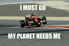 Kimi seems to be having a wheelie good time in Bahrain