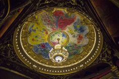 Marc Chagall's Ceiling