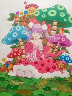 『キノコ姫』完成!