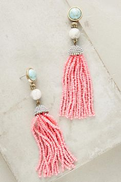 Shop the Pink Tassel Drop Earrings and more Anthropologie at Anthropologie today. Read customer reviews, discover product details and more.
