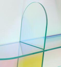 Shimmer shelf by Patricia Urquiola for Glas Italia   Flodeau.com