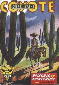 Episodio en Monterrey. Ed. CLiper, 1951? (Col. Nuevo Coyote ; 37)