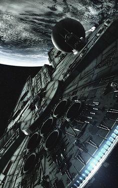 The Millennium Falcon.