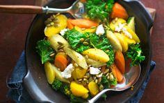 Root vegetable salad, Finnish Food, September 2016