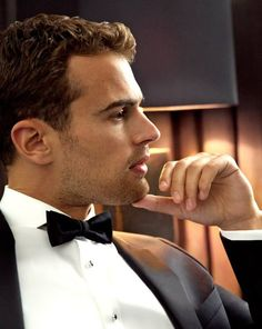 Yes, please. Theo James for Hugo Boss