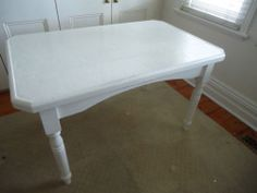 Vintage Country Rustic French Provincial Pine Table