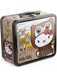 7504d15766 Owl Hello Kitty Lunch Box by Loungefly