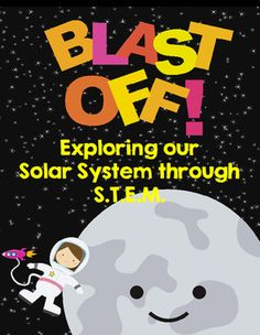 This STEM unit includes engineering activities, research graphic organizers, science experiments, and close read articles that cover space and our solar system through project based learning. You will receive the following lesson activities when you purchase Blast Off:Close Read Article on the Solar SystemText-Dependent Questions for The Solar SystemClose Read Article on Dwarf PlanetsText-Dependent Questions on Dwarf PlanetsCraters of the Moon Experiment with Recording SheetSun Dial…