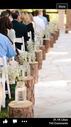 Rustic ceremony DIY wedding ideas and tips. DIY wedding decor and flowers. Everything a DIY bride needs to have a fabulous wedding on a budget! Wedding Bells, Fall Wedding, Wedding Ceremony, Wedding Flowers, Dream Wedding, Wedding Ideas, Trendy Wedding, Decor Wedding, Wedding Walkway