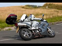 Motorcycle touring in the summer